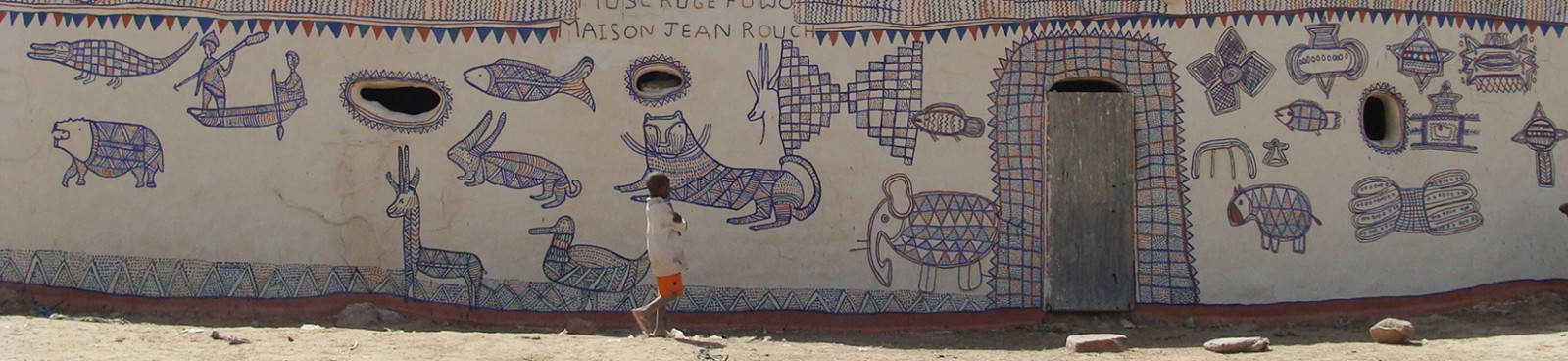 MUSE RUGE FUWO JEAN ROUCH. MAISON JEAN ROUCH