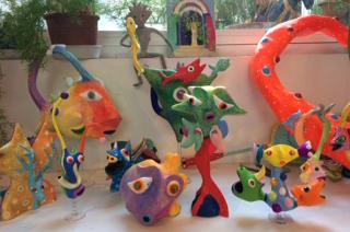 FIFMA DES ECOLES #11 :Visite de l'atelier de Wabe