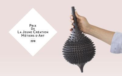 Les lauréats du Prix de la Jeune Création Métiers d'Art 2018 exposent chez Sotheby's