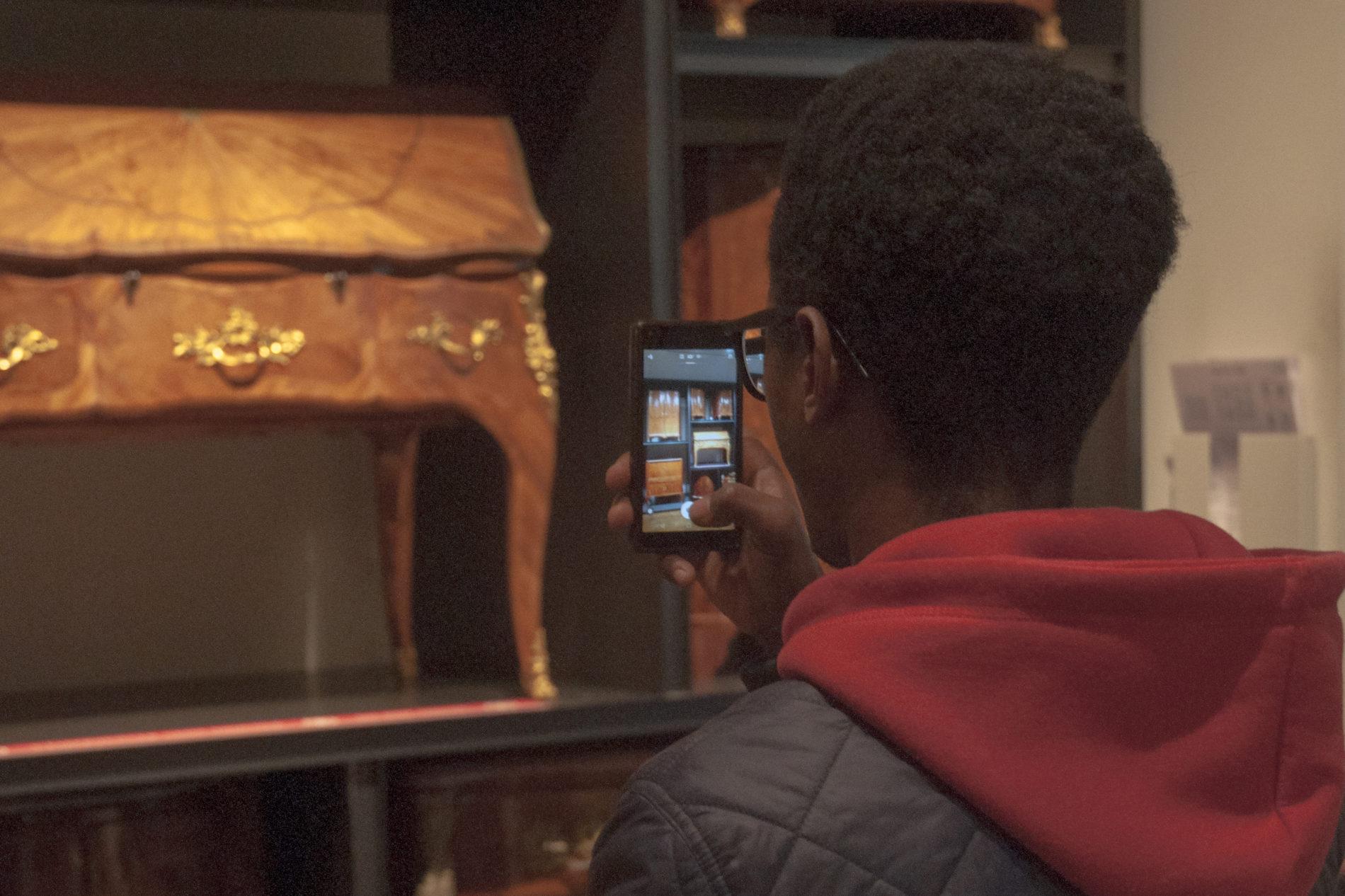 FIFMA  #1: LES LYCEENS DE BAGNOLET AU MUSEE DES ARTS-DECO